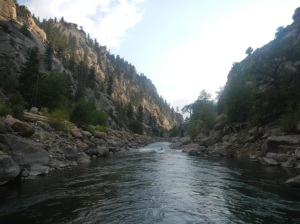 Brown's Canyon on the Arkansas River near Salida. Photo by Lew Carpenter