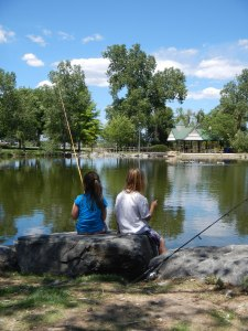 The next generation of anglers and hunters are relying on today's sportsmen to conserve fish and wildlife habitat so they have the same opportunities to recreate on public lands. Photo by Lew Carpenter