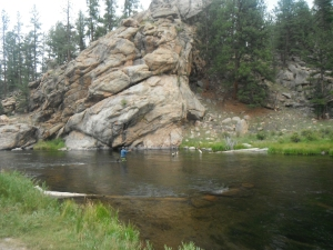 The South Platte at Elevenmile Canyon, Colorado. Photo by Rich Holland