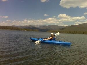 Shadow Mountain Lake, Colorado. Photo by Lew Carpenter