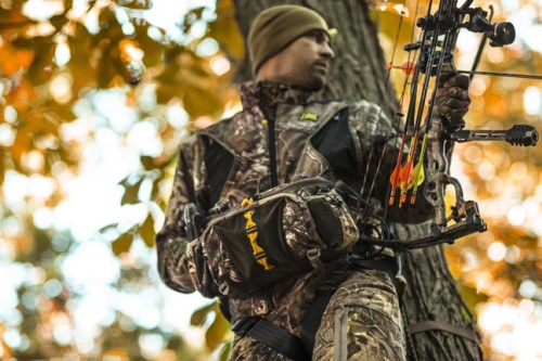 Waist packs offer great mobility and offer enough capacity for the stand or still hunter hunting close to camp or the truck. Photo courtesy of www.tenzingoutdoors.com