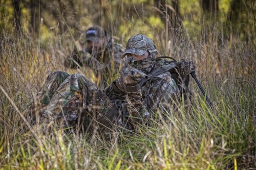 Chair-style packs are exciting options for turkey, predator, hog and even deer and elk hunters – anyone who hunts from the ground, needs to remain mobile and set-up quickly. Photo courtesy of www.tenzingoutdoors.com.